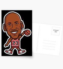 Michael Jordan Postcards