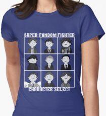 Super Fandom Fighter!  Womens Fitted T-Shirt