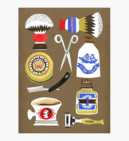 Barber shop Photographic Print