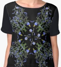 Floral spiral 2- Dianella Chiffon Top