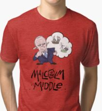 Malcolm in the Middle - Colour Tri-blend T-Shirt