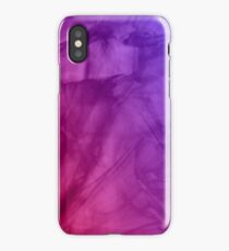 Marble fade Fire and Ice iPhone Case