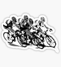 Cyclists Sticker