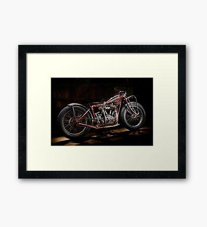 Indian Hillclimber Framed Print