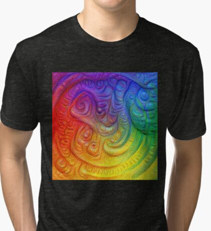 Color Foam #DeepDream Tri-blend T-Shirt