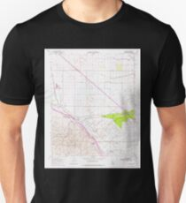 USGS TOPO Map California CA Tupman 102072 1954 24000 geo T-Shirt