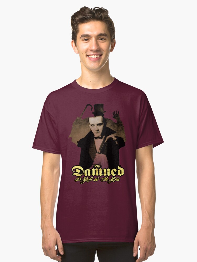 THE DAMNED Dr Jekyll and Mr Hyde Classic T-Shirt Front