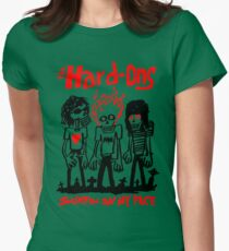 THE HARD ONS Surfin On My Face Womens Fitted T-Shirt