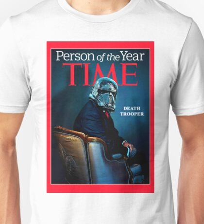 Time - person of the year - death trooper rogue one Unisex T-Shirt