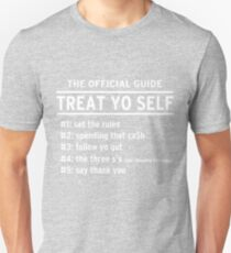 Parks and Recreation - TREAT YO SELF T-Shirt