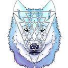 Wolf (white) by N E T H A R T I C