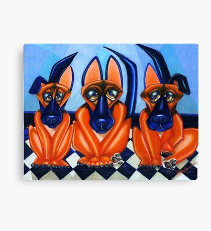 Shepherd Trio Canvas Print