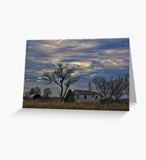 All Is Quiet in the Country Greeting Card