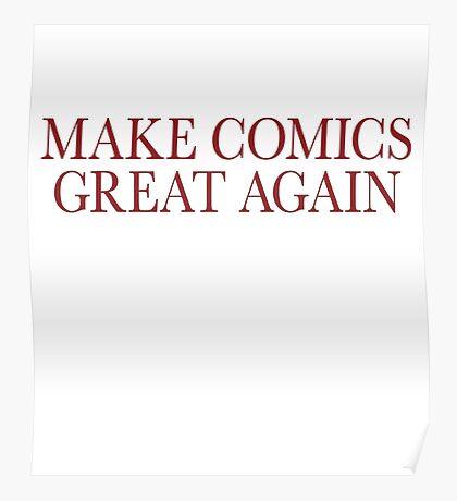 Make Comics Great Again Poster