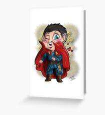 Doctor Strange - A loving cape Greeting Card