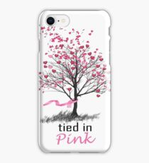 Tied in Pink: A Romance Anthology supporting Breast Cancer Research iPhone Case/Skin