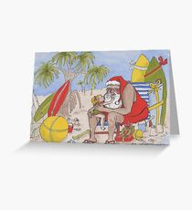 Christmas Down Under Greeting Card