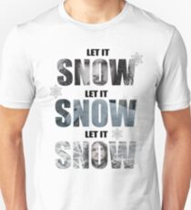 Let it Snow - Jon Snow & Ghost Unisex T-Shirt