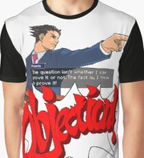 Ace Attorney - Phoenix Wright Graphic T-Shirt