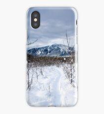 Snow day Revelstoke  iPhone Case