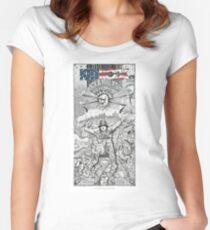 Detroit Rock Star Women's Fitted Scoop T-Shirt