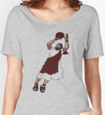 Jumpshot Jesus T shirt Women's Relaxed Fit T-Shirt