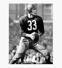 Sammy Baugh Photographic Print