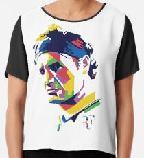 Blusa Arte de Roger Federer