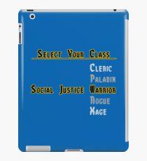 Social Justice RPG iPad Case/Skin