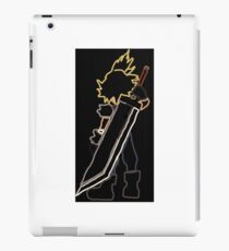 Cloud Strife Final Fantasy iPad Case/Skin