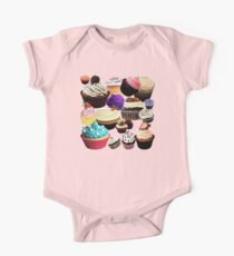 Cup Cake One Piece - Short Sleeve