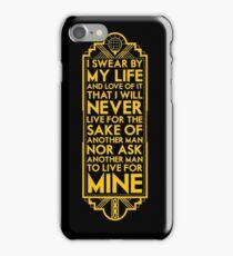 Galts Oath iPhone Case/Skin