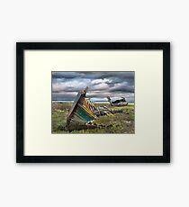 Fleetwood Wreck Framed Print