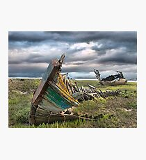 Fleetwood Wreck Photographic Print