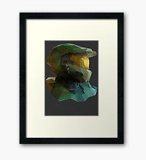 Low Poly Master Chief Framed Print