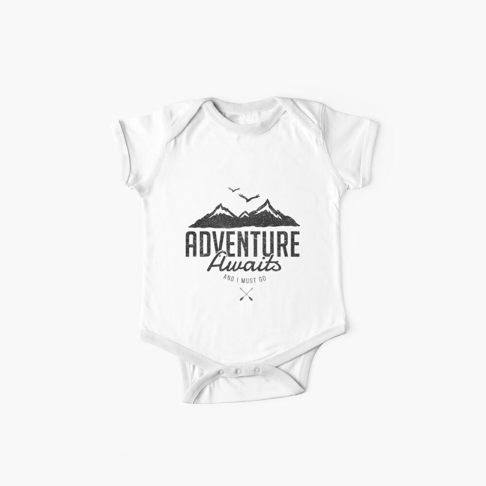 ADVENTURE AWAITS Baby One-Piece