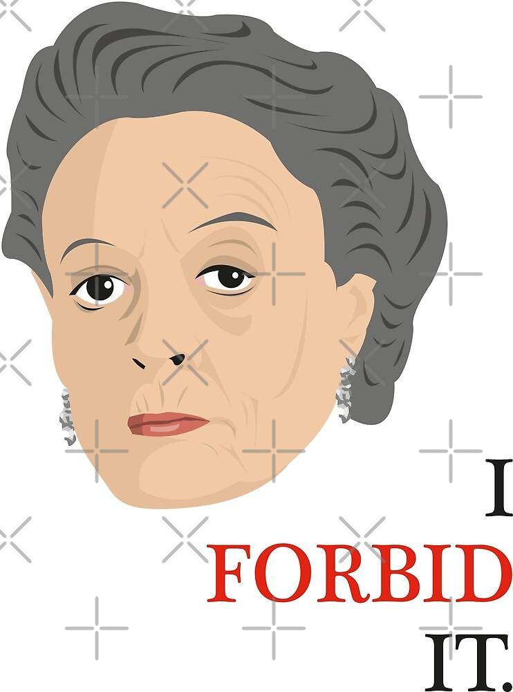 I Forbid It! by gregs-celeb-art