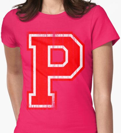 Big Red Letter P T-Shirt