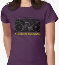 In Sterry-erry-o Where Available! Women's Fitted T-Shirt