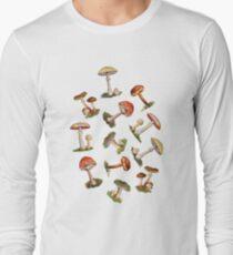 Mushrooms Long Sleeve T-Shirt