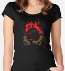 AKUMA The Raging Demon  Women's Fitted Scoop T-Shirt