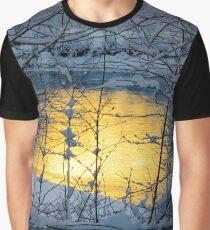 winter  sunrise  Graphic T-Shirt