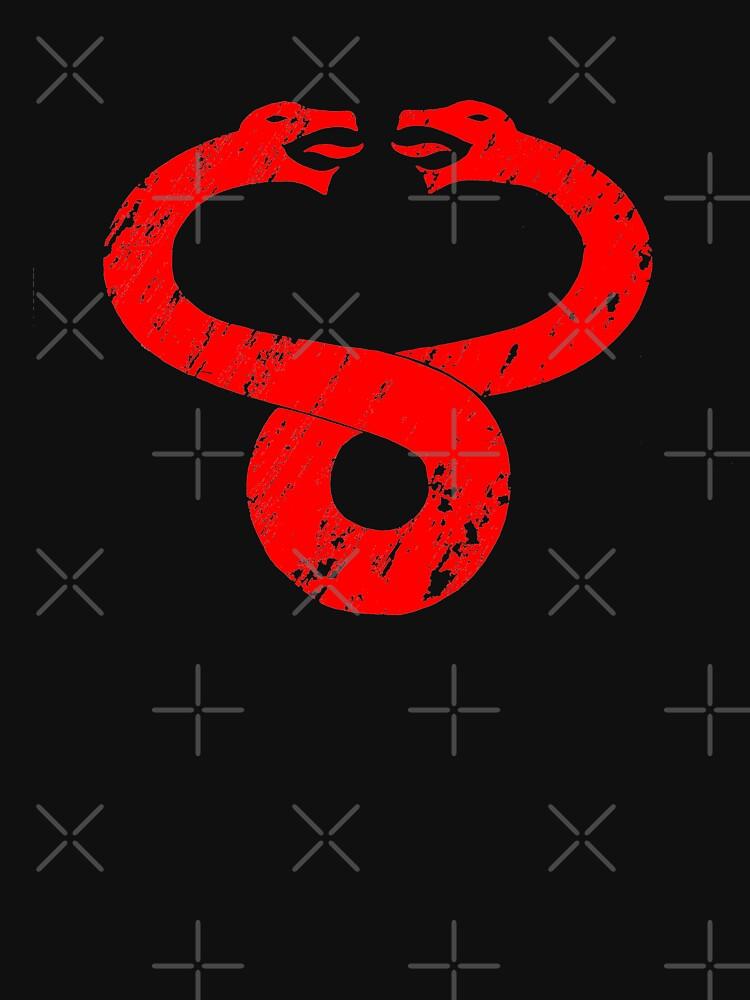 Símbolo de Mumm Ra (rojo) de Tsudo