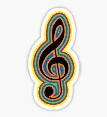 MUSIC WAVES (G-Note) Sticker