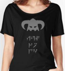 Skyrim Dovahkiin Fus Ro Dah Women's Relaxed Fit T-Shirt