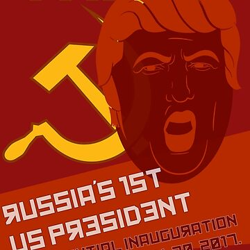 Trump, Russia's 1st US President by projectbebop