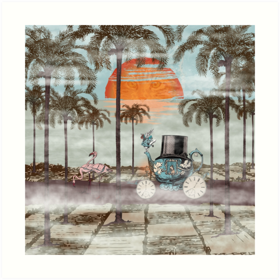 Alice Goes to California by Paula Belle Flores