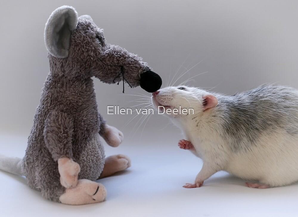 Me and my new friend. by Ellen van Deelen