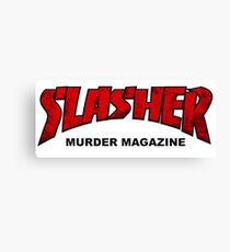 Slasher Magazine Canvas Print