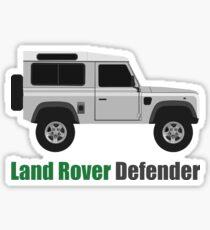 Land Rover Defender side (2 door) Sticker